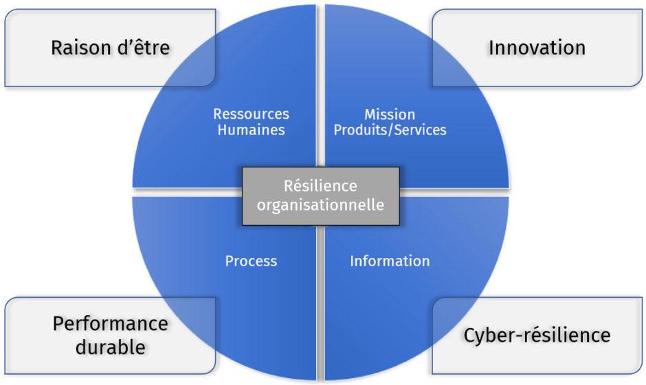 Infographie résilience organisationnelle