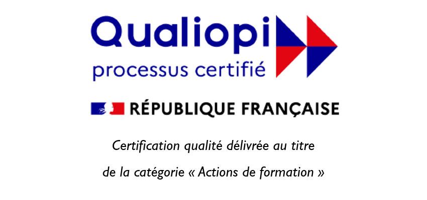 Certification Qualiopi des formations BRG
